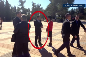Aparitie surprinzatoare in Israel, in timpul vizitei lui Traian Basescu. Cine a vrut sa se intalneasca cu presedintele