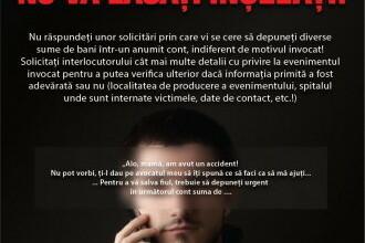 Metoda accidentul. 12 persoane din Cluj au fost inselate prin acesta metoda
