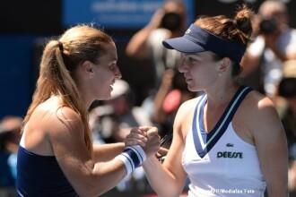 SIMONA HALEP - DOMINIKA CIBULKOVA 3-6 0-6. Romanca este eliminata in sferturile de finala la Australian Open