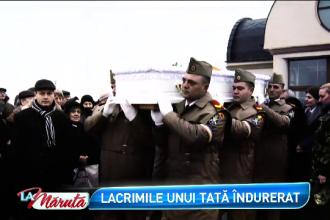 Tatal Aureliei Ion, ingenunchiat de durere: