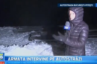 Patru masini implicate in accidentul de sambata sunt inca pe A1. Armata a intervenit cu TAB-uri sambata noapte