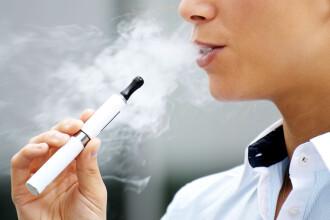 Vanzarea tigarilor electronice ar putea fi interzisa tinerilor sub 18 ani, in Marea Britanie