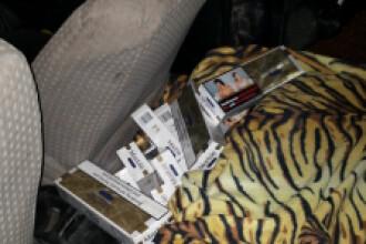 Peste 100.000 de tigari confiscate de politistii din Maramures de la un tanar de 29 de ani