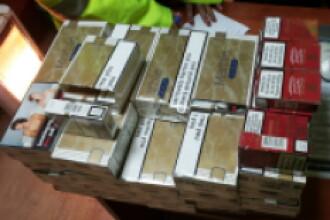 Peste 500 de pachete de tigari confiscate de politistii baimareni din pietele agroalimentare