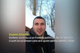 Ucraina, in prag de razboi civil. Vladimir Klitschko cere ajutorul Occidentului: