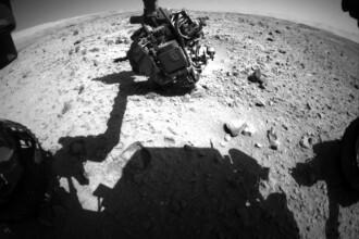 OZN pozat de Curiosity, robotul NASA, de pe suprafata planetei Marte