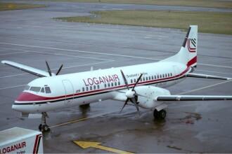 Patru raniti, dupa ce un avion a iesit de pe pista din cauza rafalelor de vant, in Marea Britanie