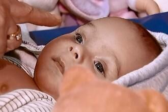 Petru, bebelusul care i-a cucerit pe telespectatorii ProTV, poate sa vada. Interventia in SUA, un miracol medical