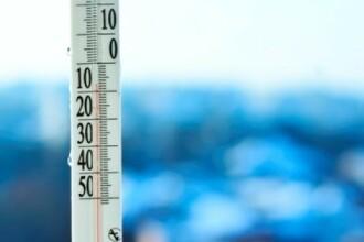 Cea mai scazuta temperatura din tara in prima zi a anului, -18 grade Celsius la Miercurea Ciuc si Toplita