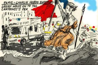 Satira nu moare. Desene facute de caricaturisti din toata lumea, care au