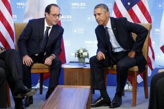 Francois Hollande: Comunitatea internationala trebuia sa fi intervenit militar in Siria din 2013