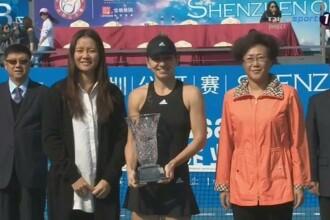 Simona Halep a invins-o pe Bacsinszky, scor 6-2, 6-2, si a castigat turneul de la Shenzhen.