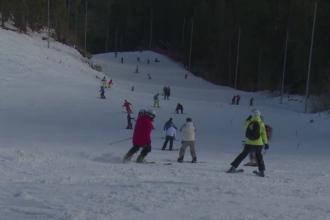 Vreme perfecta pentru schi in statiunile de la munte. Ce se intampla cu partiile incepand cu ziua de luni