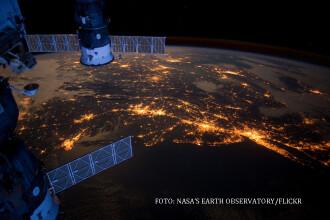 NASA a trimis salmonella, viermi de galbeaza si muste betive pe Statia Spatiala Internationala.