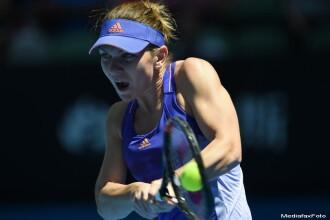 SIMONA HALEP vs. KARIN KNAPP, 6-3, 6-2, la Australian Open. Halep: