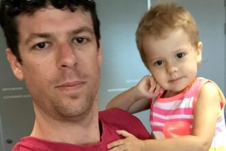 Fetita lui de doi ani are cancer, asa ca tatal ei a luat o decizie controversata. Acum, risca sa ajunga la inchisoare