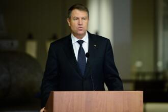 Klaus Iohannis retrimite in Parlament legea pentru conferirea titlului de