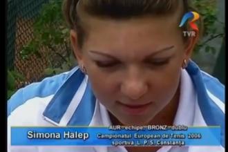 IMAGINI de ARHIVA. Cum arata Simona Halep in 2006, pe cand era doar o junioara talentata