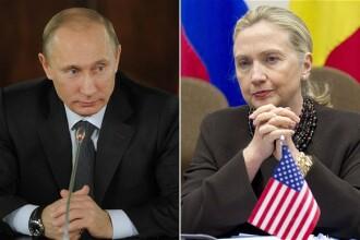 Vladimir Putin, ironizat de Hillary Clinton. Cum crede ca s-a hotarat liderul Rusiei sa candideze pentru un nou mandat. VIDEO