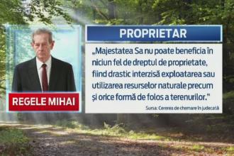 Regele Mihai a dat Ministerul Mediului in judecata. Majestatea Sa cere 1 milion de lei prin patru procese