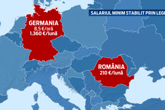 Primele reactii dupa ce Germania a anuntat salariul minim de 8,5 euro/ora. Ce trebuie sa stiti inainte de a va face bagajele