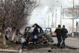 Noua militari au fost ucisi si alti 29 raniti, in ultimele 24 de ore, in estul Ucrainei