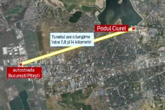 Tunelul de 14km care ar trebui sa rezolve o zona neagra de trafic a Capitalei. Marile necunoscute ale unui proiect scump