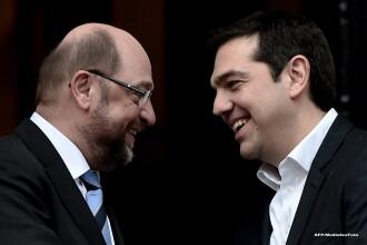 Presedintele Parlamentului European, dupa intalnirea cu premierul Alexis Tsipras: