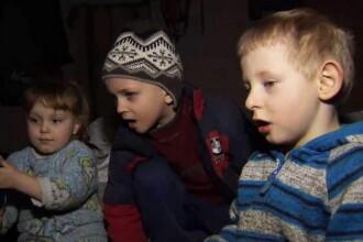 Viata in interiorul buncarelor din Donetk: Subteranul a devenit casa pentru sute de parinti si copii. Cine cred ca ii ataca