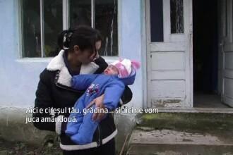 Alina, tanara din Hunedoara care a refuzat sa-si abandoneze copilul, are acum o casa noua. Unde va locui cu fetita ei