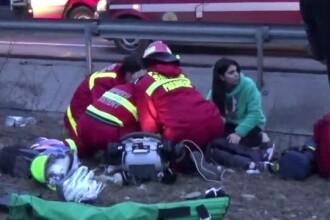 O fetita de 5 ani a fost salvata de la moarte, dupa un accident, de un sofer: