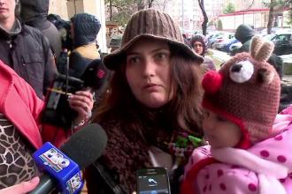 Protest la Spitalul Judetean Constanta. Zeci de mame, nemultumite de sectia de pediatrie: