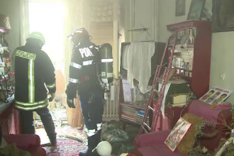 Batrana de 82 de ani, gasita moarta in casa in urma unui incendiu. Cum s-a petrecut tragedia