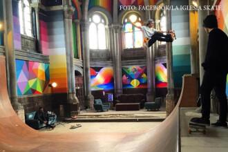O biserica din Spania a fost cumparata de un grup de skateri. Cum a ajuns sa arate dupa un an. FOTO si VIDEO