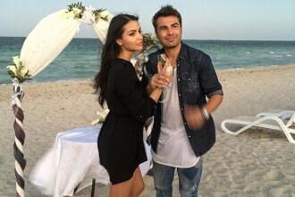 Adrian Mutu s-a casatorit cu Sandra Bachici, pe o plaja din Cuba. Mesajul postat de fotbalist pe Facebook. FOTO