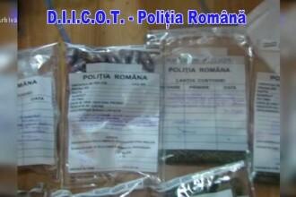 Peste 1150 de kilograme de stupefiante, inclusiv droguri de mare risc, au fost retrase de pe piata din Romania, in 2015