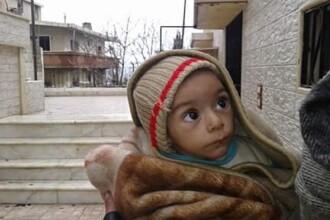 330 de tone de alimente si ajutoare medicale au intrat in Madaya, orasul din Siria asediat de 6 luni de armata guvernamentala