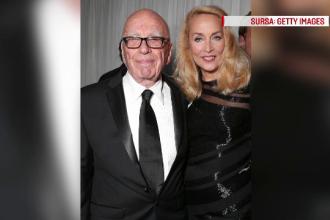 La 84 de ani, magnatul Rupert Murdoch isi anunta logodna cu fostul fotomodel Jerry Hall. Cei doi sunt impreuna de doar 4 luni