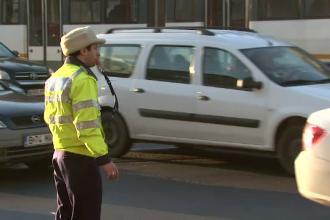 Politia Rutiera a dat amenzi de 13.000 de lei intr-o singura zi, in Capitala. Scuzele inventate de soferii care incalca legea