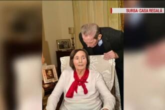Noi fotografii cu Regele Mihai si Regina Ana, date publicitatii. Fostul suveran n-a mai aparut in public din noiembrie 2014