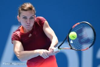 SIMONA HALEP - SHUAI ZHANG. Romanca a fost invinsa fara drept de apel in primul tur la Australian Open