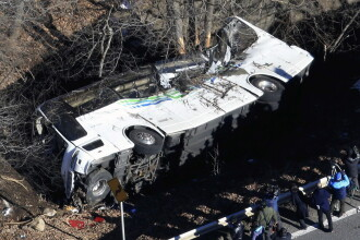 Grav accident in Japonia. 14 turisti au murit, iar 27 au fost raniti, in drum spre o statiune de schi. VIDEO