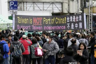Alegeri istorice in Taiwan. Apropierea de China, practicata de actualul presedinte, ar putea lua sfarsit dupa 8 ani