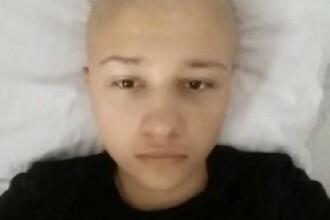 La doar 15 ani, a fost diagnosticat cu o forma rara de cancer. Cum ii poti salva viata lui Cristian printr-un simplu SMS