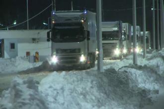 Coada de cativa kilometri la Ruse, dupa ce frontiera a fost inchisa. Ce alternativa au soferii