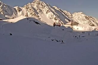 Pericol de avalanșă la Bâlea Lac. Avertismentul transmis de meteorologi