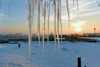 Ger in toata tara, de joi pana marti vor fi temperaturi minime de pana la -22 de grade. Prognoza meteo pentru weekend