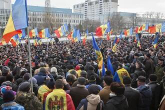 A treia zi de proteste la Chisinau. Basescu: