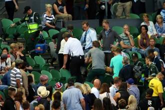 Panica la Australian Open. Meciul jucat de Ana Ivanovic, intrerupt, dupa ce antrenorului ei i s-a facut rau