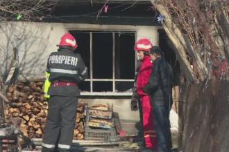 Tragedii provocate de ger si neatentia oamenilor. Trei oameni au murit in Prahova dupa ce le-au luat foc casele